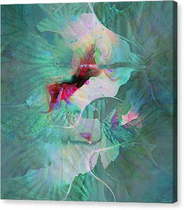 A Sacred Place - Abstract Art Canvas Print by Jaison Cianelli