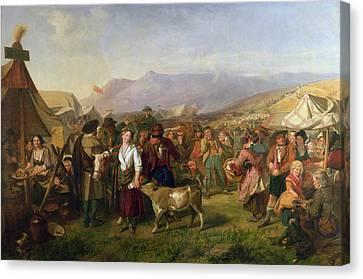A Scottish Fair Canvas Print by John Phillip