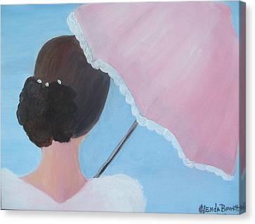 A Southern Stroll Canvas Print by Glenda Barrett