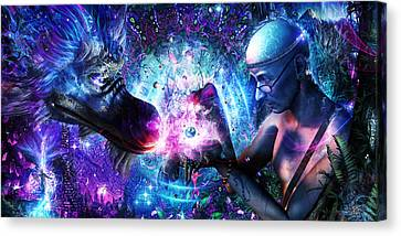 A Spirit's Silent Cry Canvas Print by Cameron Gray