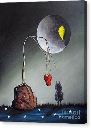 A Strange Dream By Shawna Erback Canvas Print by Shawna Erback