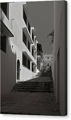 A Street With No Name  Canvas Print by Mario Celzner