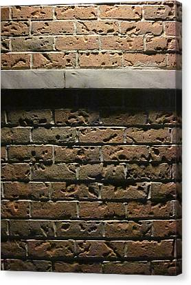 A Study In Brick Canvas Print by Guy Ricketts