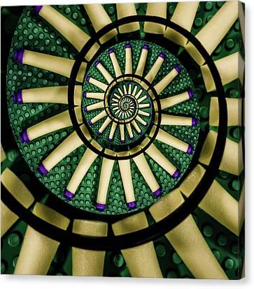 A Swirl Of Legonerf Canvas Print by Randy Turnbow