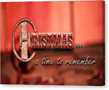 A Time To Remember Canvas Print by Carolyn Marshall
