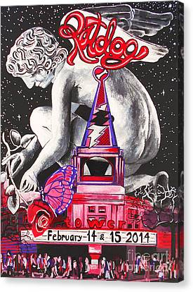 A Valentines Weekend With Ratdog At The Tower Theater Canvas Print by Kevin J Cooper Artwork