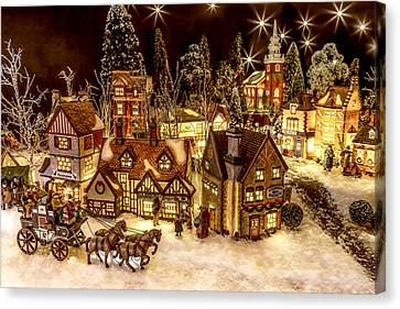 A Very Merry Christmas Canvas Print by Caitlyn  Grasso