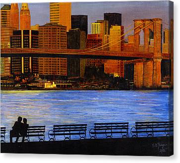 A View From Brookklyn Canvas Print by Stuart B Yaeger