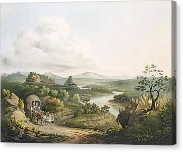 A View Near The Roode Sand Pass Canvas Print by Henry Salt