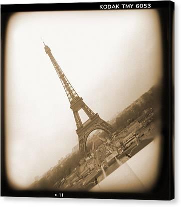 A Walk Through Paris 11 Canvas Print by Mike McGlothlen