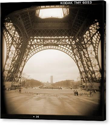 A Walk Through Paris 14 Canvas Print by Mike McGlothlen