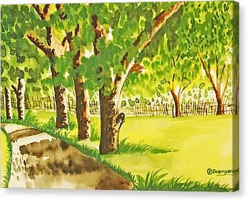 A Walk To Remember Canvas Print by Shakhenabat Kasana