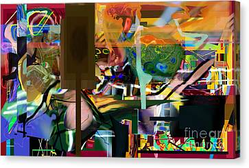 A Way To Bring The World To Tsheuvah 10 Canvas Print by David Baruch Wolk