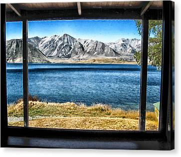 A Window To New Zealand Canvas Print by Mountain Dreams