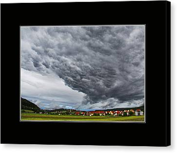 A Window To Switzerland Canvas Print by Mountain Dreams
