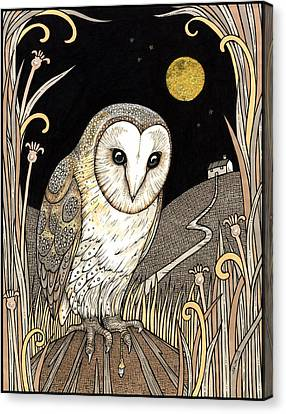 A Wise One Waits Canvas Print by Anita Inverarity