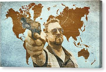 A World Of Pain Canvas Print by Filippo B
