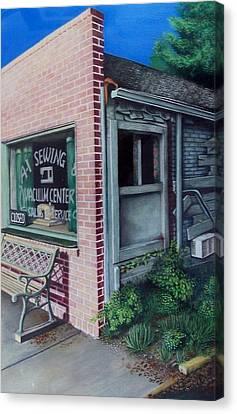 A1 Sewing Canvas Print by DA Neace