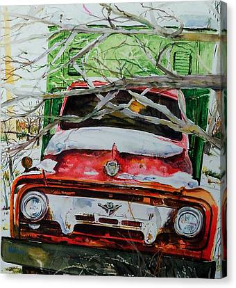 Abandoned Delivery  Canvas Print by Scott Nelson