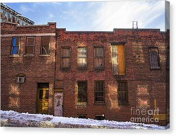 Abandoned Canvas Print by Diane Diederich