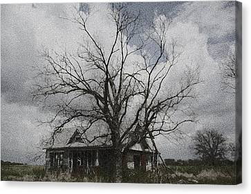 Abandoned House Canvas Print by Donna G Smith