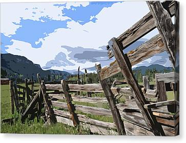 Abandoned Canvas Print by Jack McAward