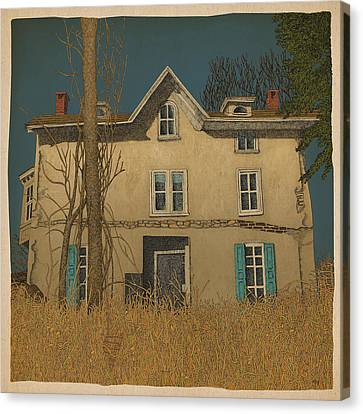 Abandoned Canvas Print by Meg Shearer