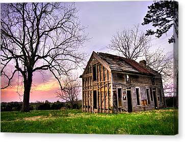 Abandoned Memories - Gateway, Arkansas Canvas Print by Gregory Ballos