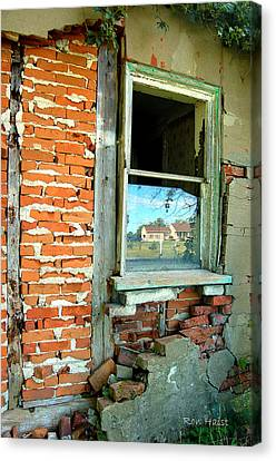 Abandoned Canvas Print by Ron Haist
