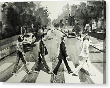 Abbey Road Canvas Print by Bekim Art