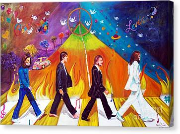 Abbey Road Canvas Print by To-Tam Gerwe