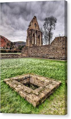Abbey Well Canvas Print by Adrian Evans