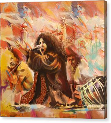 Abida Parveen Canvas Print by Catf