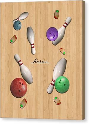 Abide 2w Canvas Print by Filippo B