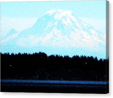 Above It All Canvas Print by David Trotter