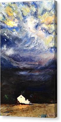 Above The Storm Canvas Print by Patty Kingsley
