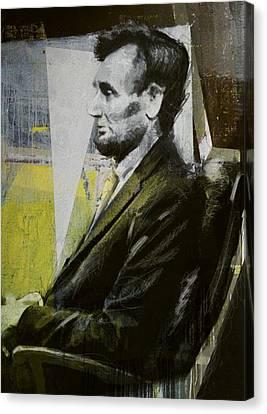 Abraham Lincoln 03 Canvas Print by Corporate Art Task Force