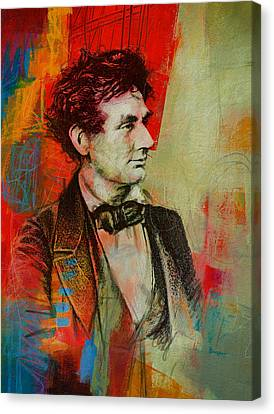 Abraham Lincoln 04 Canvas Print by Corporate Art Task Force