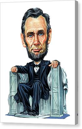 Abraham Lincoln Canvas Print by Art