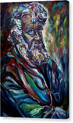 Abraham  Patriarch Canvas Print by Carole Spandau
