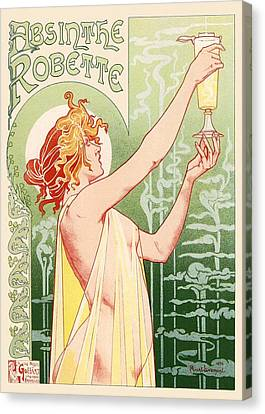 Absinthe Robette Canvas Print by Gianfranco Weiss
