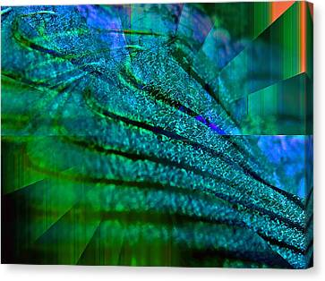 Absolute Blue Canvas Print by Michael Durst