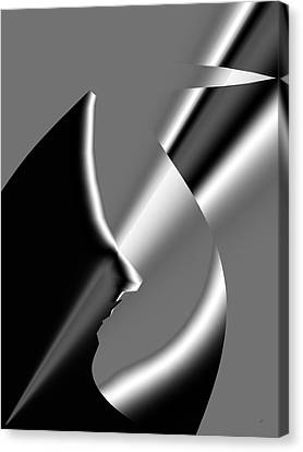 Abstract 1010  Canvas Print by Gerlinde Keating - Keating Associates Inc