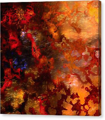 Abstract 21214a Canvas Print by Daniel Mowry