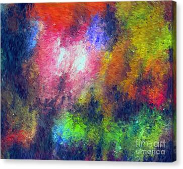 Abstract 296 Canvas Print by John Krakora