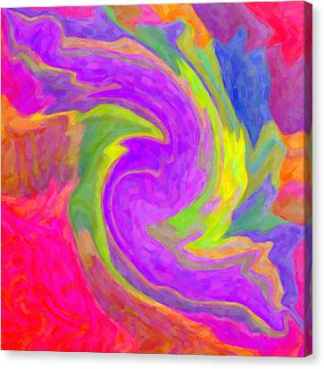 Abstract 44 Canvas Print by Kenny Francis