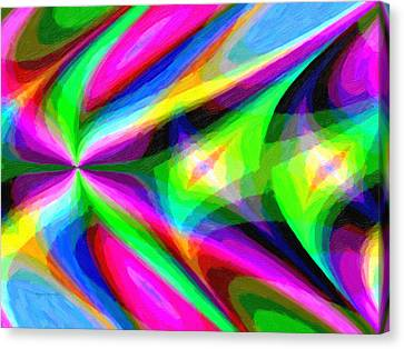 Abstract 45 Canvas Print by Kenny Francis