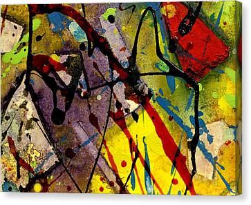 Abstract 53 Canvas Print by John  Nolan