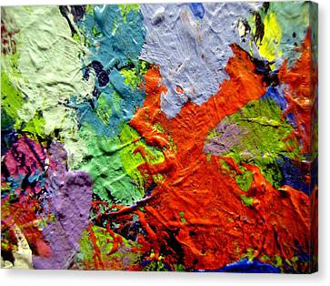 Abstract 7 Canvas Print by John  Nolan