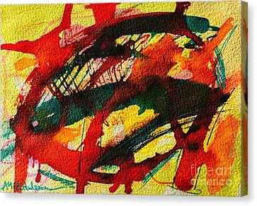 Abstract 73 Canvas Print by Ana Maria Edulescu